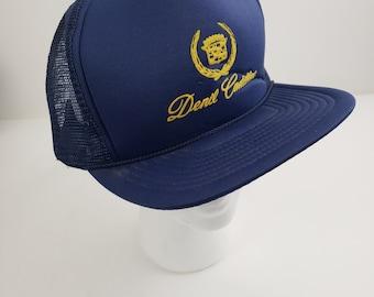 c3e55489 Denil Cadillac Logo Snapback Trucker Hat Cap Vintage