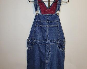 Cherokee Denim Bib Overalls Women's Jeans XL 9.8