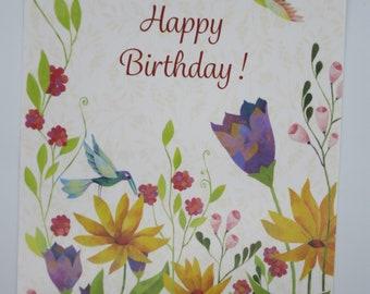 Happy Birthday - Birthday Card - Postcard