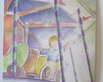 Carousel - Seasonal - Postcard - Waldorf
