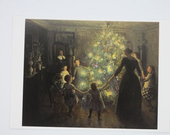 Silent Night - Table of Seasons - Postcard - Waldorf