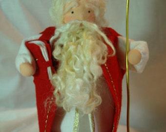 Saint Nicholas  - Christmas- Flower Child - Waldorf  Inspired