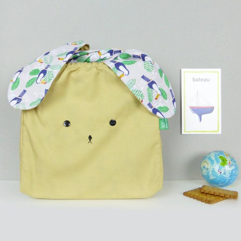 9c649ae493285 Handgemachte Osterhase Hase Stofftasche für Kinder Baby und