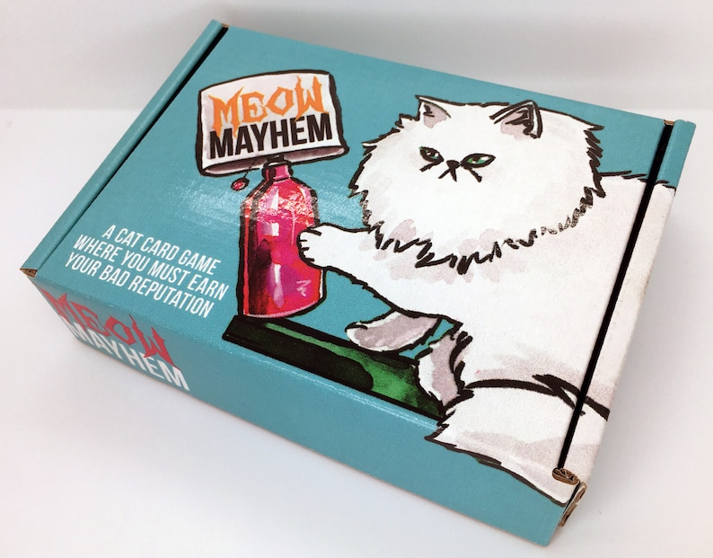 PREORDER// Meow Mayhem // An Indie Cat Card Game image 0
