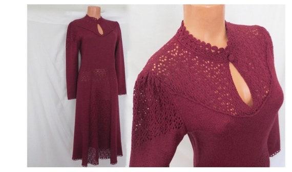 s/m BOHEMIAN KNITWEAR vintage knit dress - Miss Jo