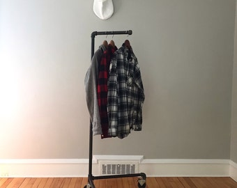 Rolling Clothing Stand