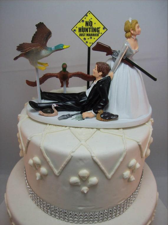 Keine Jagd Enten Mit Gun Gewehr Schrotflinte Braut Und Etsy