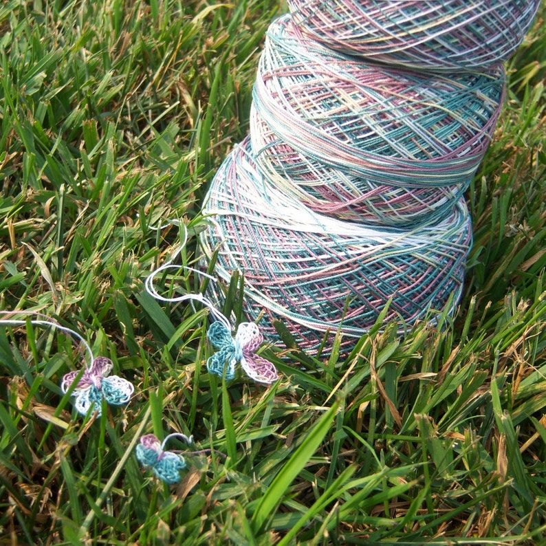 HDT Into the Woods Your Choice of Length Size 20 Hand Dyed Lizbeth Tatting Thread