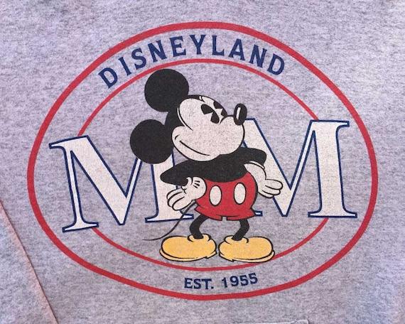 Vintage Disneyland Hoodie / Vintage Mickey Mouse S