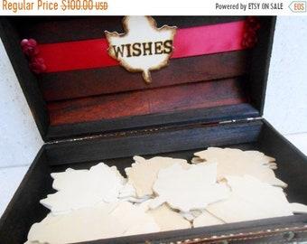 ON SALE Wedding Wishes Trunk   Wedding Wishes Box   Fall Wedding   Fall Wedding Decor   Wedding Trunk   Wedding Suitcase