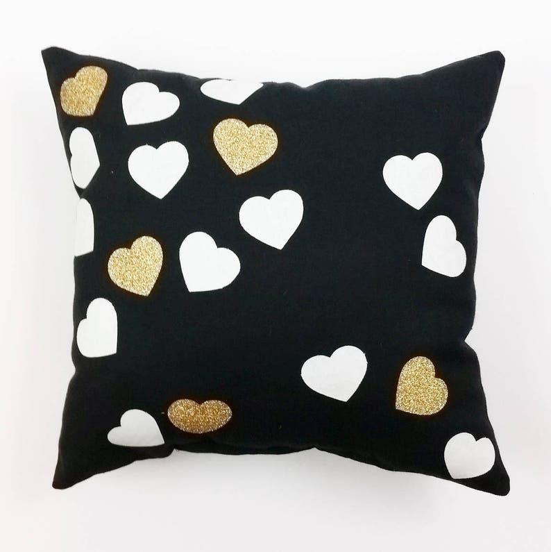 Konfetti Serca Poduszka Poduszki Valentines Aplikacja Serce Poduszka Wystrój Walentynki Walentynki Poduszkę Poduszka Serce Walentynki Poduszka