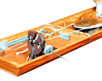 Book Charkha Traditional crafted in India.