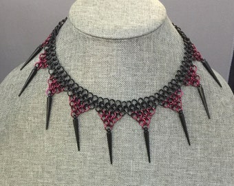 Spiked European Necklace