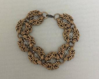 Copper & Quartz Romanov Bracelet