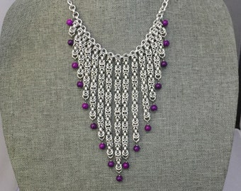 Cascading Stone Necklace