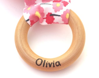 Name Personalization add-on to any teething ring purchase.