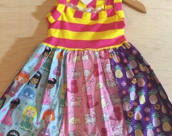 Clearance girls dress size 18 months.  oaak.