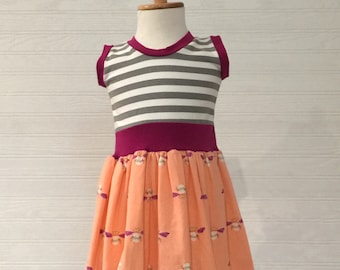 Clearance girls dress.  12mos, 18mos and 2t available.  Ready to ship.