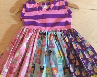 Clearance girls dress size 12 months.  oaak.