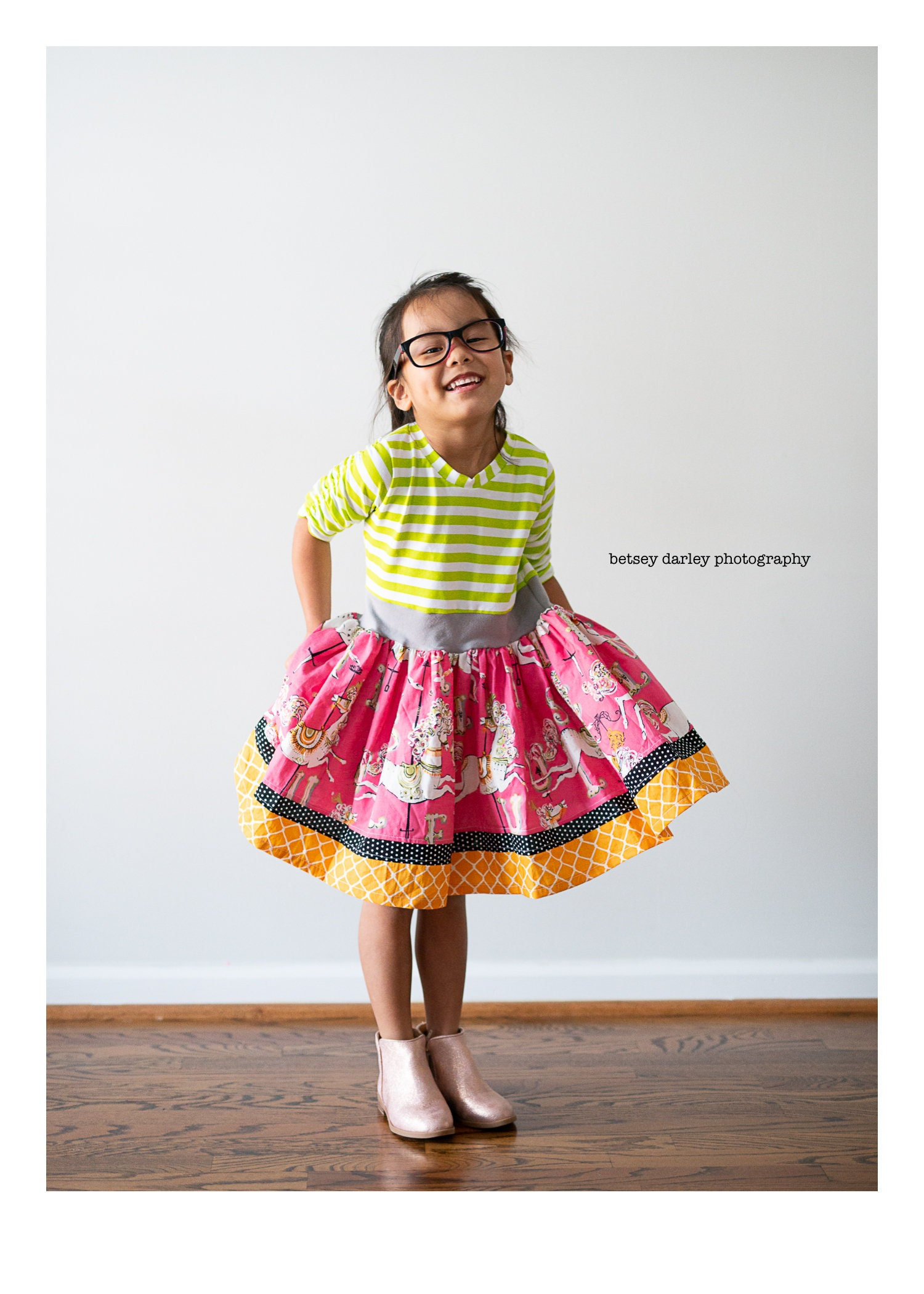 bf34df9ac5aaa Girls carousel dress . Available girls 6 months to 10 years.