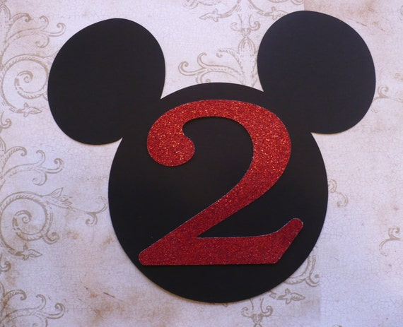 11 From Ear To 1 Mickey Mouse Head Shape 2 Year Die