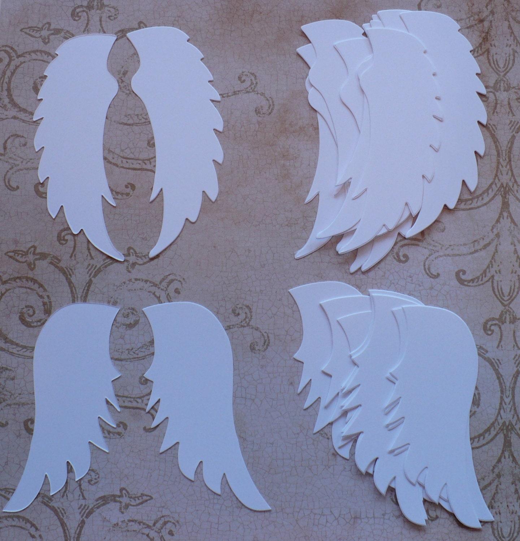 крылья ангела открытка своими руками сфотографированные