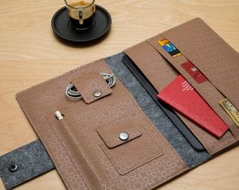 iPad Case. iPad Organizer. iPad Folio Case. Vegan. Apple Pencil Holder. Keyboard Case