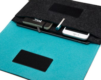 iPad Pro Sleeve / iPad Case / iPad Cover / iPad Organizer / Keyboard Case / Pencil Pocket