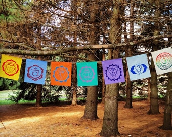 Chakra Prayer Flags: Elements
