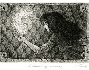 I Found My Own Way  - Original Intaglio Print