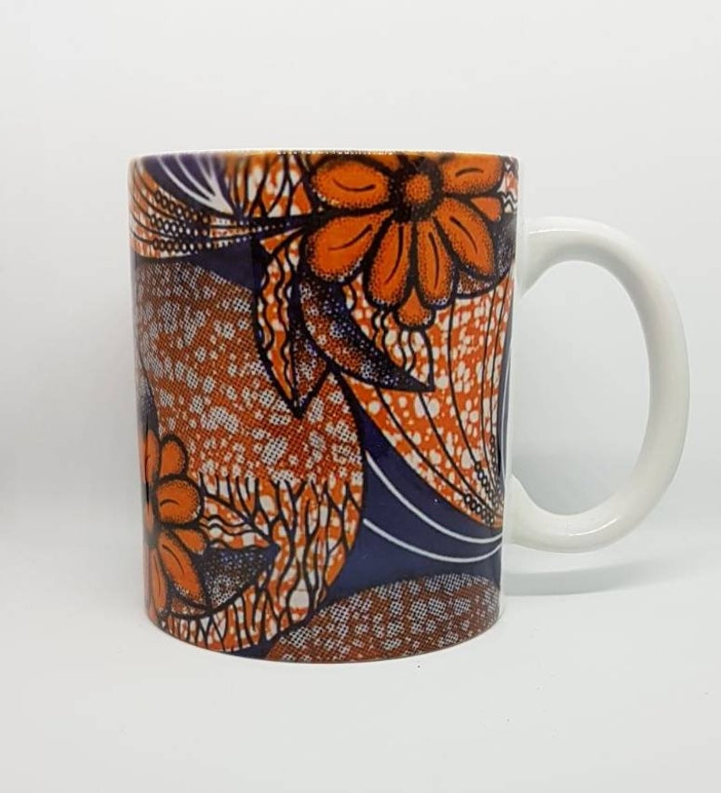 f1fac740114 Mugs/ unique coffee mugs / printed mugs / cups / ankara gifts/ | Etsy