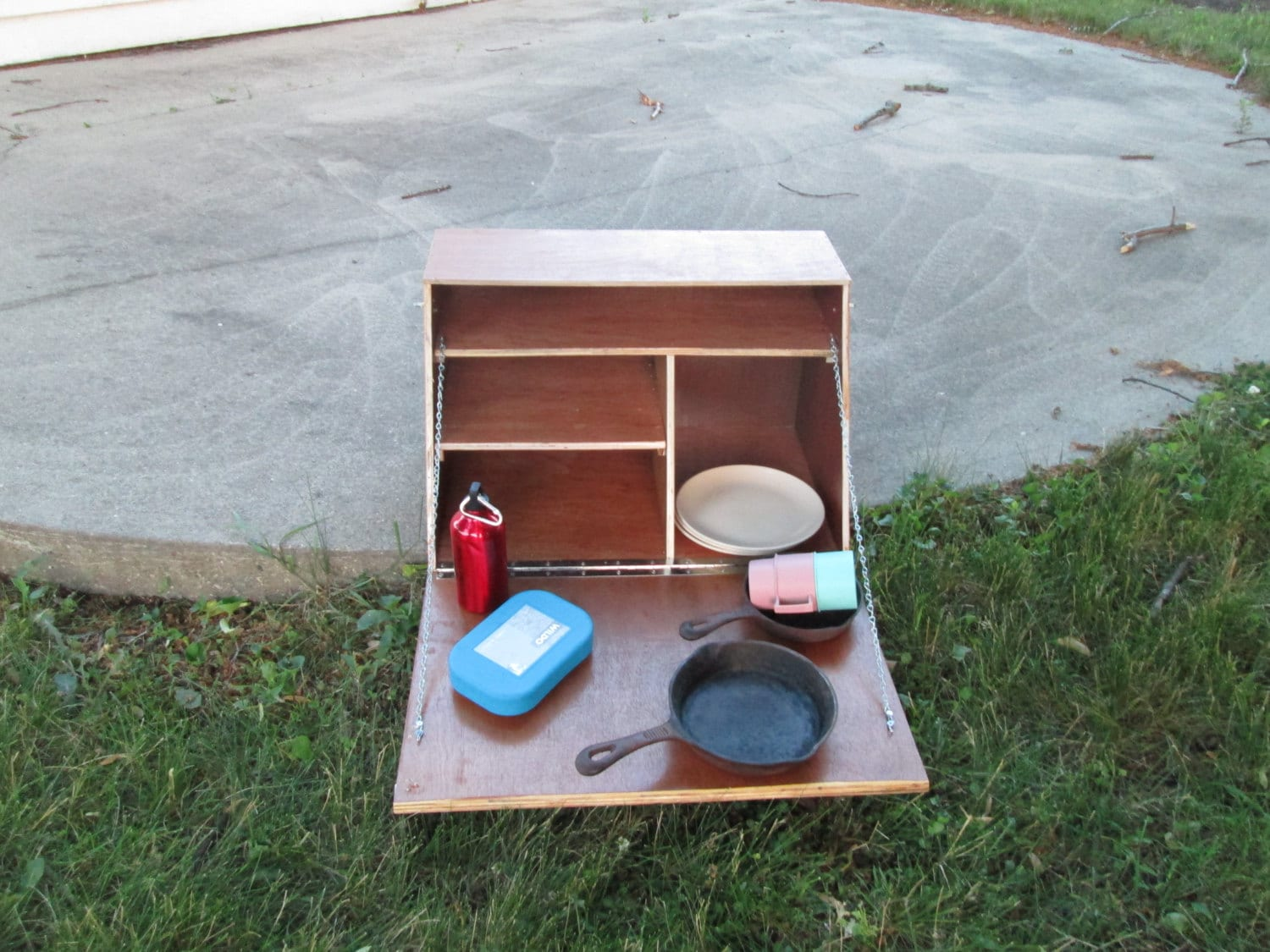 Camping Cupboard Camp Kitchen Tailgating | Etsy