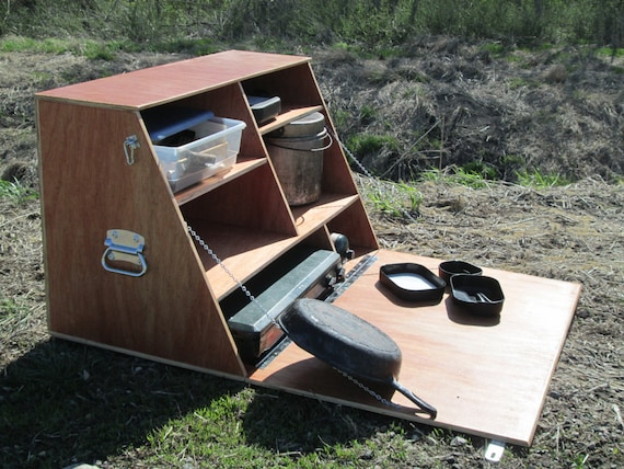 Camp Kitchen - Camping Cupboard - Chuck Box