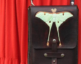 Luna Moth - Crossbody Purse
