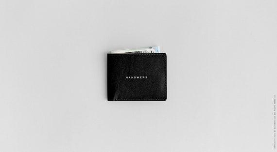Super dun wasbaar papier Bi Fold portemonnee met slanke Kraft papier portemonnee, Eco vriendelijke, veganistisch, minimalistische | BLAD (multicolor)
