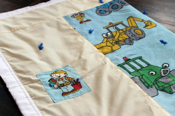 Bob the Builder Baby Quilt