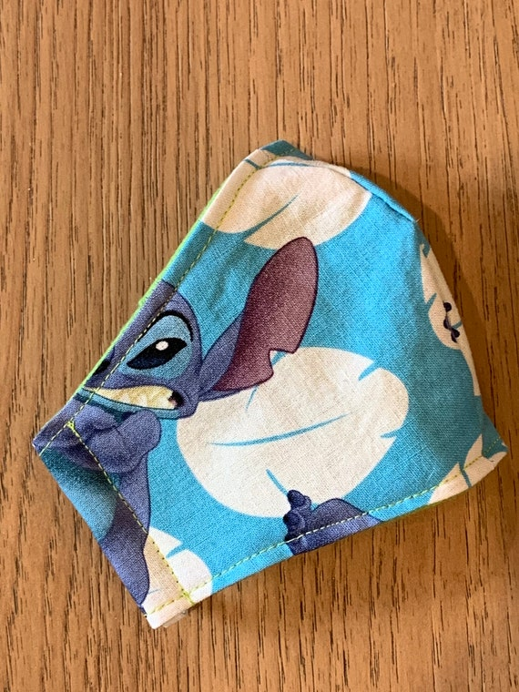 Lilo & Stitch Young Child Double Layer Face Mask with Filter Pocket