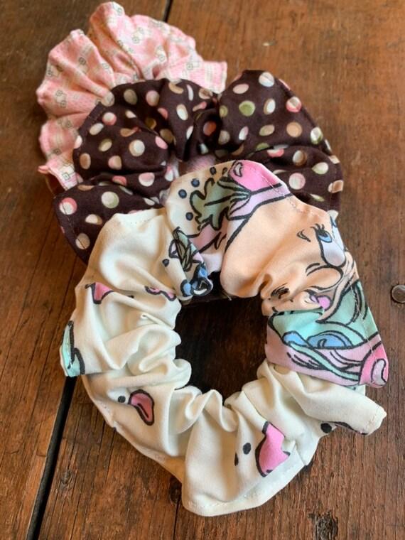 Disney Snow White Hair Scrunchies SET