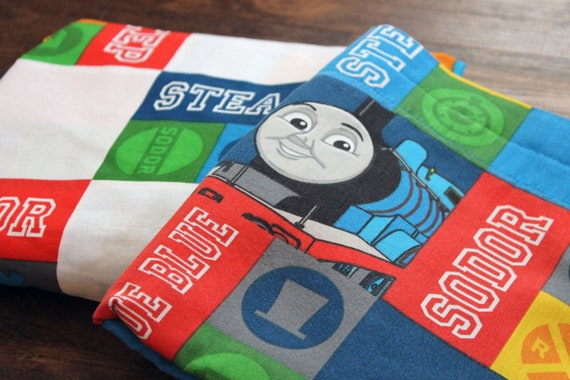 Vintage Thomas the Train crib or toddler bed sheet SET