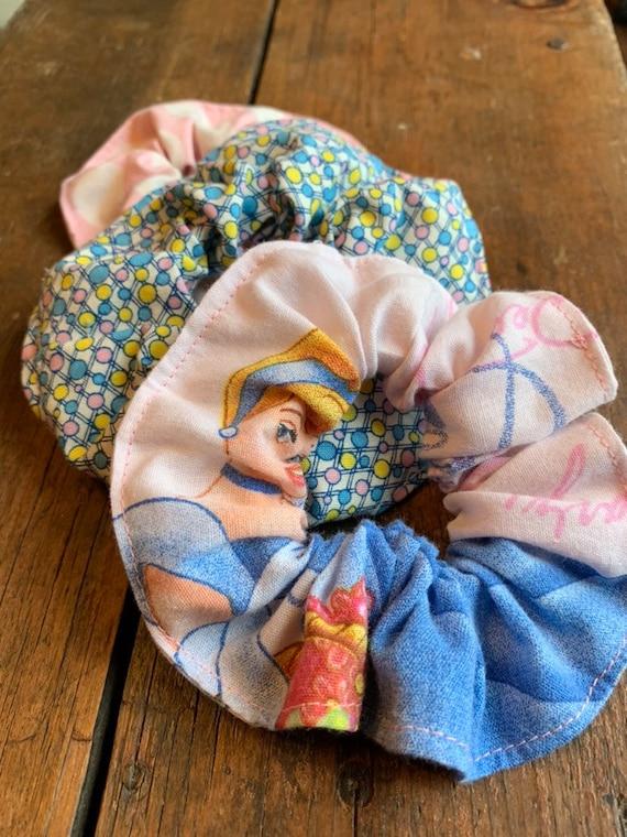 Disney Cinderella Hair Scrunchie SET