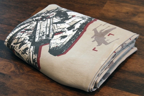 Star Wars FULL flat bed sheet