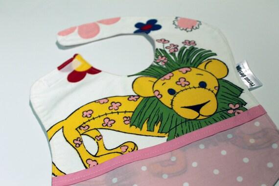 Vintage Lion Baby Bib