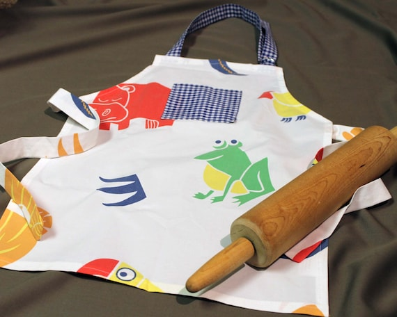 SALE Kids Jungle Animal Apron