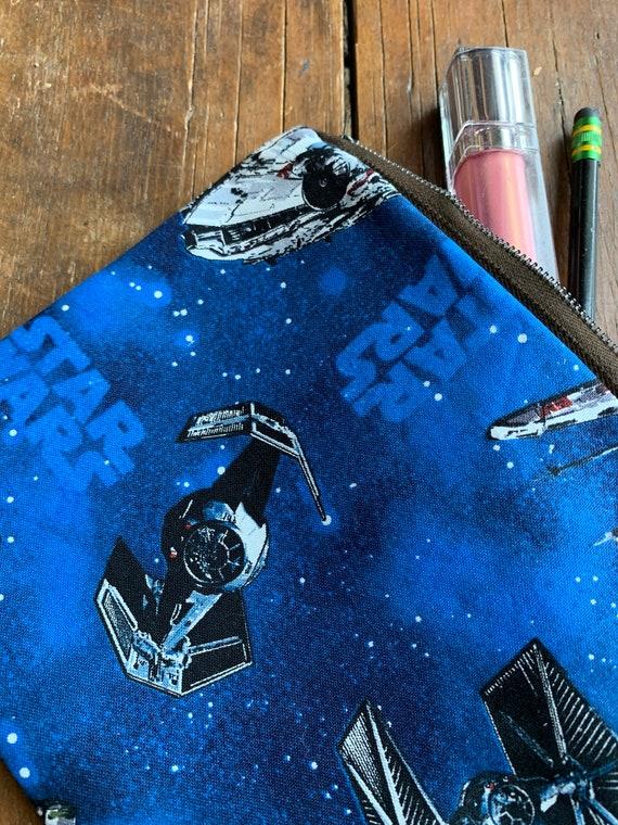 Star Wars Small Zipper Clutch or Purse