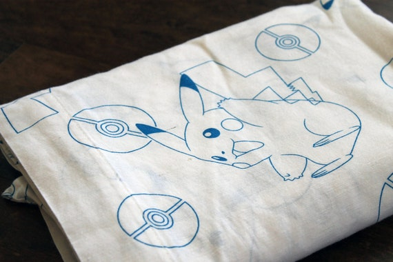 Pokemon TWIN bed sheet