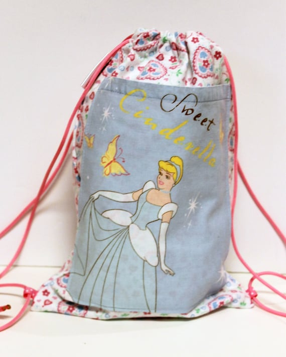 Disney Cinderella Child's Drawstring Backpack