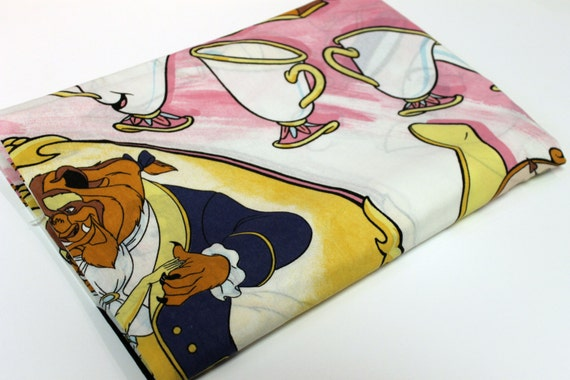 Beauty and Beast Bed Sheet