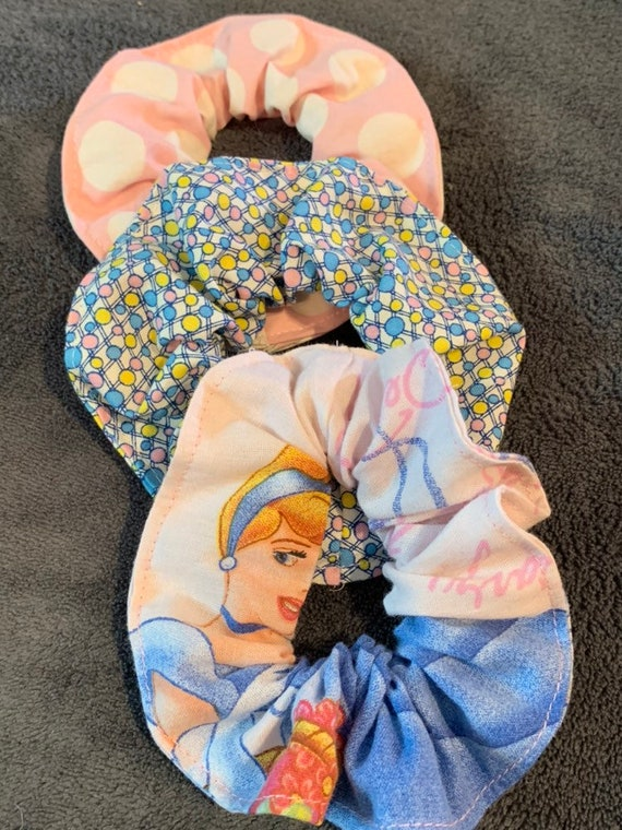 Disney Cinderella Hair Scrunchie SET