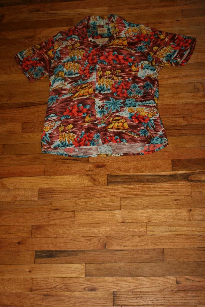 5d41ab13750 Vintage rayon hawaiian holiday bowling shirt etsy jpg 794x1191 Hawaiian  bowling