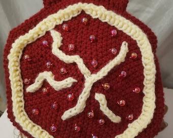 Crochet Pom Beret